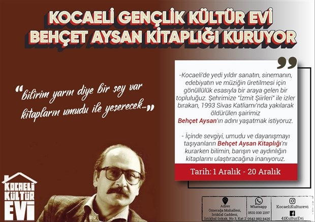 kocaeli-genclik-kulturevi-behcet-aysan-kitapligi-kuruyor-658314-1.