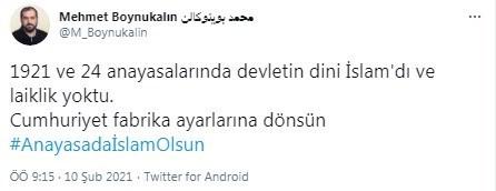 AKP'den Ayasofya'nın baş imamı Boynukalın'a: 'Siyasi polemiklerin içinde  olmanız herkesi üzmekte'