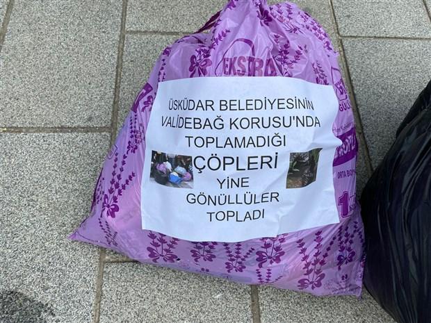 yurttaslar-velidebag-korusu-nda-biriken-copleri-uskudar-belediyesi-nin-onune-getirdi-883996-1.