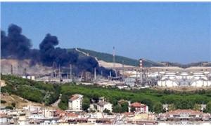 Aliağa Tüpraş rafinerisinde yangın