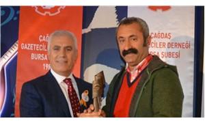 Ovacık belediye başkanına 'ilk ödül'