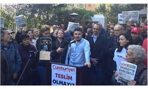 Basın meslek örgütleri 'Cumhuriyet' nöbetinde