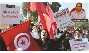 Tunus halkı farkını gösterdi