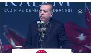 Erdoğan: Kadını insan olarak kabul edersek pek çok şey çözülür