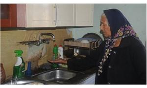 Elektriği suyu kesik evde yaşam mücadelesi