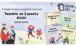 """Çocuklar için """"Ysemin ve Lavanta"""" kitap dizisi"""