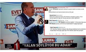 TRT muhabiri referandum eylemine katıldı: Yandaş medya karıştı