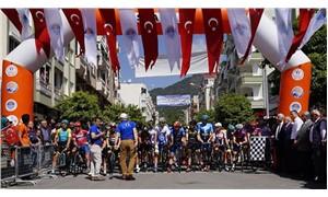 Mersin Uluslararası Bisiklet Turu başladı