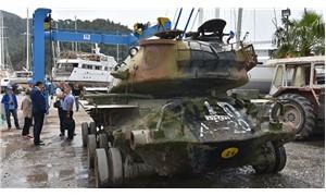 Tank, dalış turizmi için batırılacak
