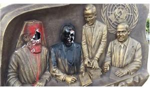 Ülkücüler, Kıbrıs anıtına saldırdı