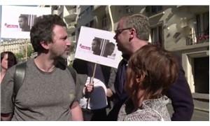 Journalists in France protest Turkey over detention of Mathias Depardon