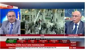 TGRT canlı yayınında: Yaptığın, camiyi 'kerhane' haline getirmektir
