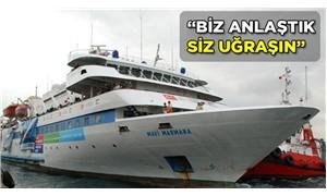 Bakanlık,  Mavi Marmara tazminatını 'haksız zenginleşme' gördü