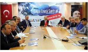 Dalga enerjisinden elektrik üretecek santralin protokolü imzalandı