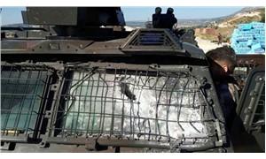 Zırhlı araca roketatarlı saldırı: 1 polis yaralı