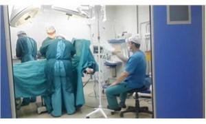 Ameliyathanede 'kartonlu yelpaze' tartışması