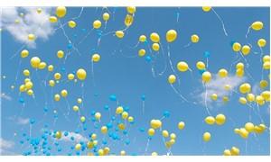 Pilot uçan balonları görünce: Balonlar birer birer geçiyor, pist üzerinde bekliyoruz
