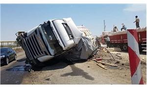Felaket kamyonları geri geldi