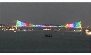 Köprüdeki gökkuşağı renkleri yandaşları panikletti: LGBTİ propagandası