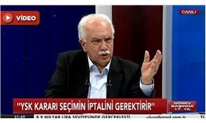 """Doğu Perinçek:  """"Türk yargısı altın devrini yaşıyor"""""""