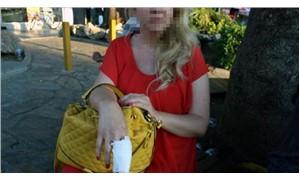 Köpeğe şişe fırlatanlar, kendilerine tepki gösteren kişiyi dövdü
