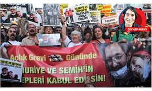 Nuriye ve Semih ile Dayanışma Platformu: Yaşam haklarının gasp edilmesine izin vermeyeceğiz