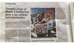 Cumhuriyet Davası İspanya basınında