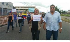 Venezuela sağ muhalefetinden 48 saatlik grev kararı