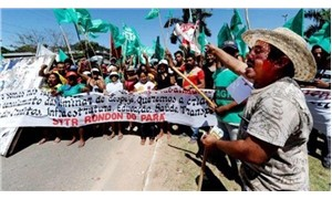 Topraksız köylüler Brezilya tarım bakanının çiftliğini işgal etti