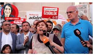 Fatma Şık: Haksızlar, hırsızlar dışarıda benim oğlum içeride