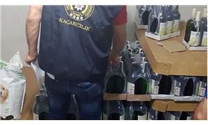 9 ilde şarap firmalarına operasyon