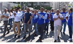 DİSK işten çıkarılan işçiler için yürüdü