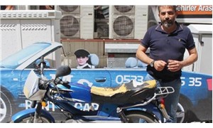 Hırsıza sosyal medyadan çağrı yaptı motosikletine kavuştu