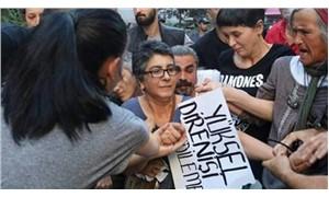 Elektronik kelepçeleri kırarak eyleme katılan Karadağ ve Bozkurt gözaltına alındı