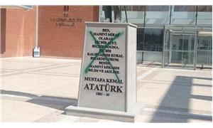 Atatürk heykeline saldıran kişi tutuklandı