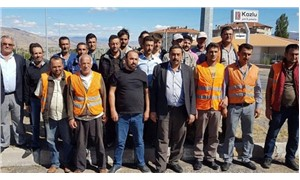 İşten çıkarılan taşeron Karayolları işçileri eylem yaptı