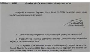 Vekillerin Erdoğan ile ilgili soru sorması yasaklandı!