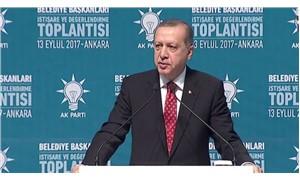 Erdoğan: Belediyecilikte kendimizle yarışıyoruz