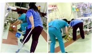 Hastanenin yeni doğan ünitesinde fare kovalamacası