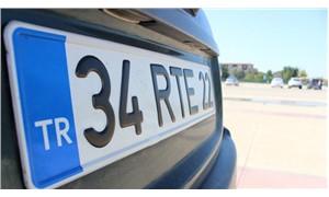 """""""RTE"""" plakalı araç değerinin 23 katına satışa çıkarıldı"""