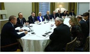 Erdoğan, Yahudi kuruluş temsilcileriyle görüştü