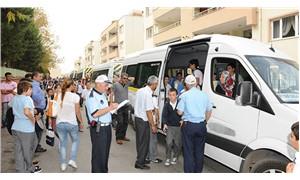 17 kişilik okul servisinden 32 öğrenci çıktı