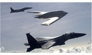 ABD uçaklarından KDHC sınırında taciz uçuşu