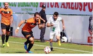 Amedspor-Etimesgut Belediyespor maçı tekrar oynanacak