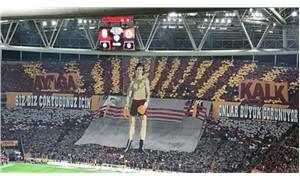 Galatasaray pankartına FETÖ soruşturması
