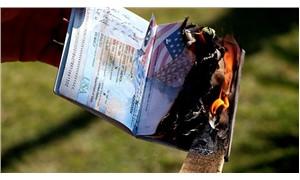 Vize krizine tepki gösteren baba, ABD vatandaşı çocuklarının pasaportlarını yaktı