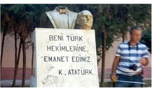 Atatürk büstünü kıran kişi şizofreni hastasıymış
