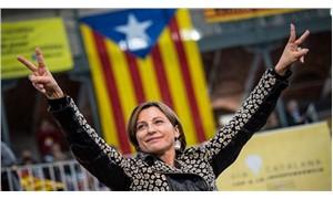 Katalan Parlamento Başkanı Forcadell kefaletle serbest kaldı