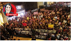 Binlerce kadın şiddete karşı yürüdü: İtaat yok, kadın var