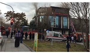 BBP Genel Merkezinde yangın çıktı!